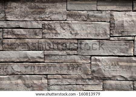 Stone wall texture background - stock photo