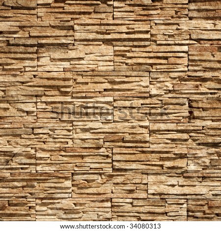 Stone wall texture:can be used as background