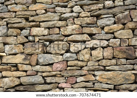 Stone wall texture for designers and 3d artists