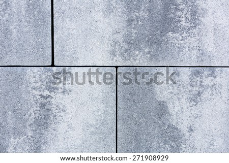 Stone wall to be used as background - stock photo
