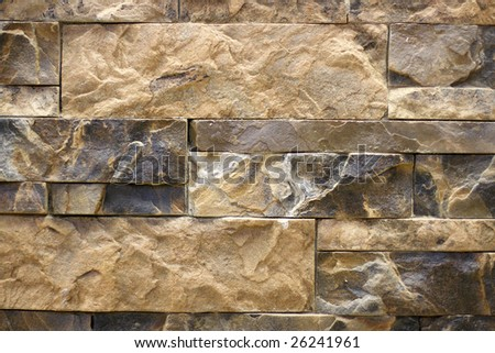 Stone wall to serve as background