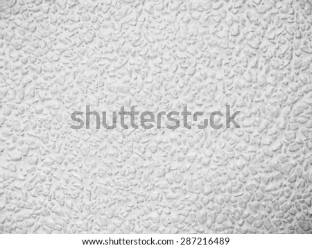 stone white wall texture - stock photo