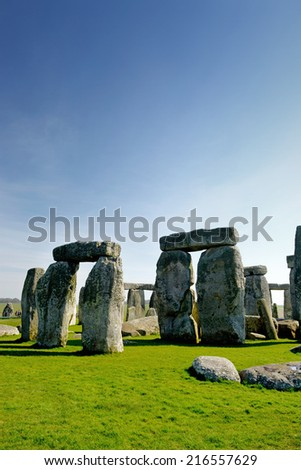 Stonehenge - stock photo