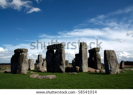 stonehenge a prehistoric monument located in the English county of Wilt-shire
