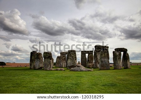 Stonehenge an ancient monument in the heart of England UK