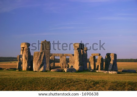 Stonehenge - England (7400) - stock photo