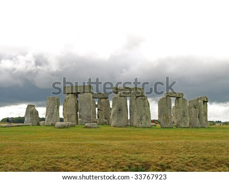 stonehenge in early summer, july 2009