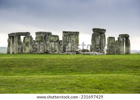 Stonehenge monument in England, UK.
