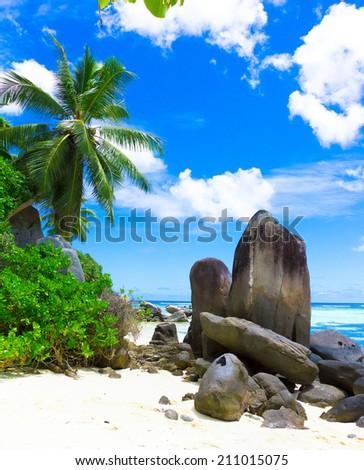 Stones Beauty Paradise  - stock photo