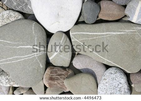 Stones in background. - stock photo
