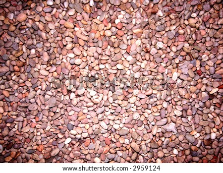 STONES ON A BEACH - stock photo