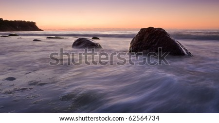 stones on the beach - stock photo