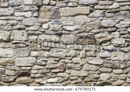 Stonewall texture background.