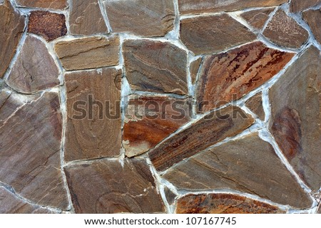 stonework abstract background - stock photo