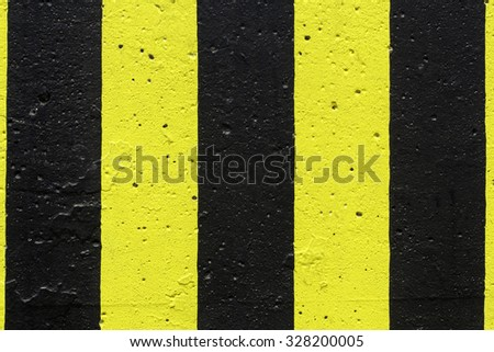 Stop Black and Yellow Background