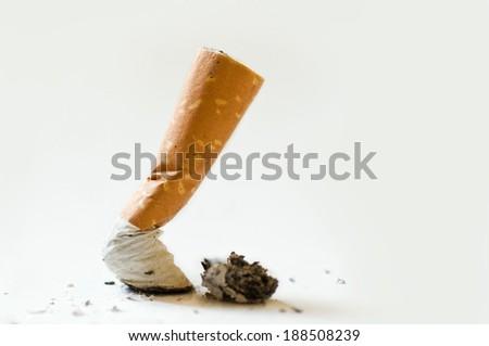 stop cigarette - stock photo