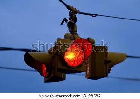 Stop lights - stock photo