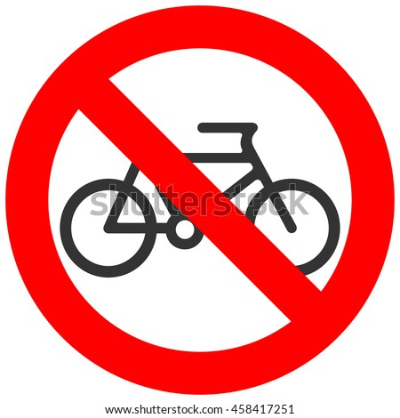 Bike Ban Stock Images Royalty Free Images Vectors Shutterstock
