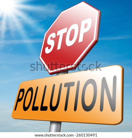 stop pollution and go green renewable energy and sustainable agriculture reduce waste - stock photo
