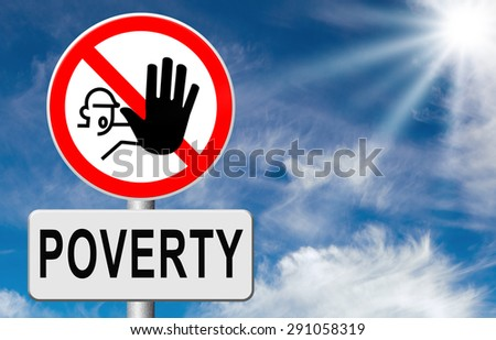 stop poverty give and donate to charity help the poor - stock photo