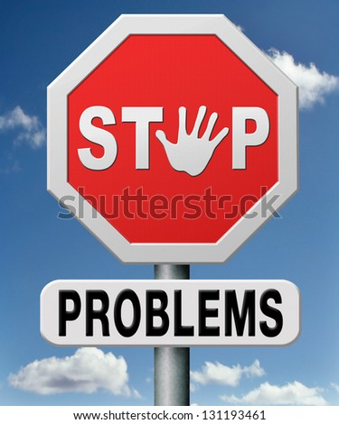 stop problems, solve problem and find answers solving questions with correct answer.