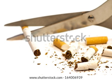 stop smoking for healthy lifestyle - stock photo