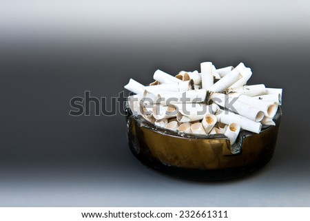 Stop smoking today, abstract healthy backgrounds for your design - stock photo