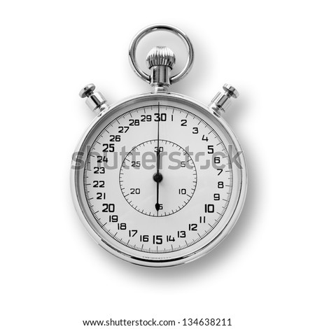 Stop watch - stock photo