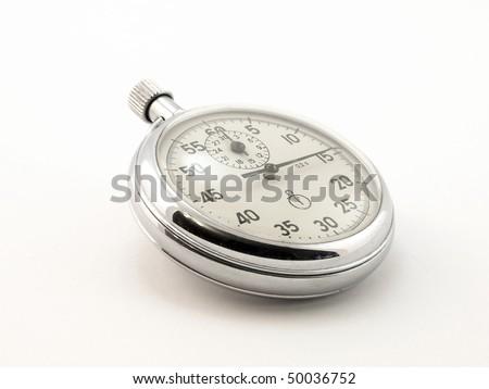 Stop-watch - stock photo