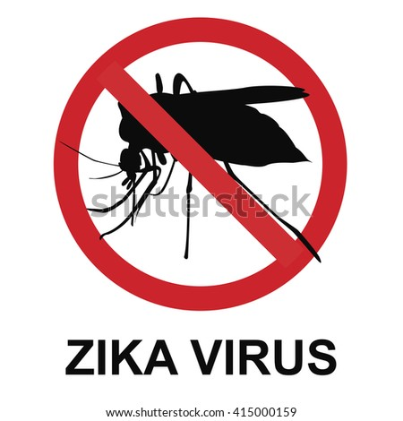 Stop Zika virus - stock photo