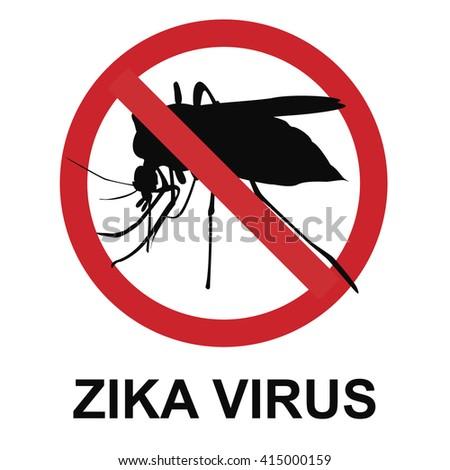 Stop Zika virus - stock photo
