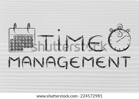 stopwatch and calendar, the role of time management in a global business
