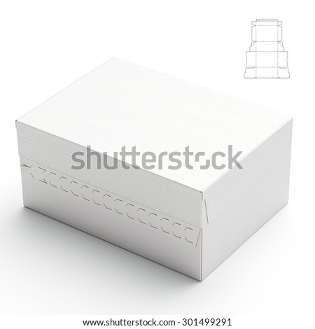Storage Box with Zipper Lock and Blueprint Template