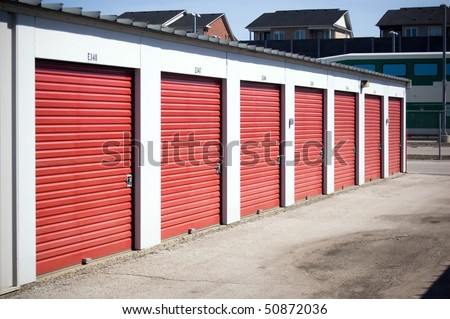 storage facility background