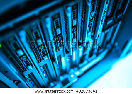 Storage servers in data room Domestic Room .