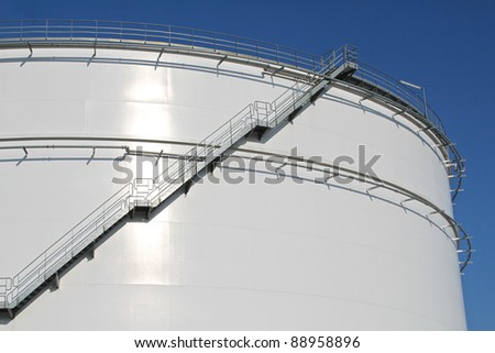Storage tank - stock photo