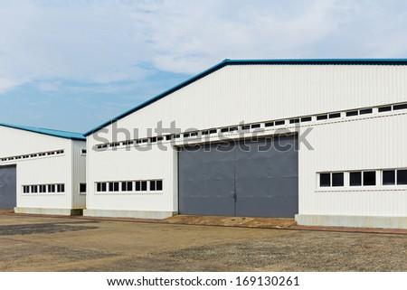 Storage warehouse unit - stock photo
