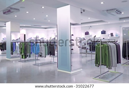 store - stock photo