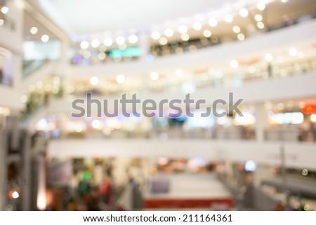 store blur background - stock photo