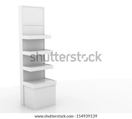 store display stand - stock photo