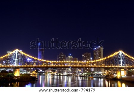 Storey Bridge night