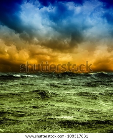 Storm - stock photo