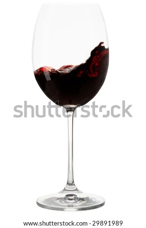 Storm In A Glass Of Red Wine