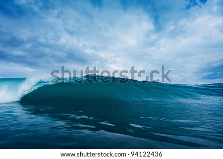 Stormy Ocean Wave - stock photo