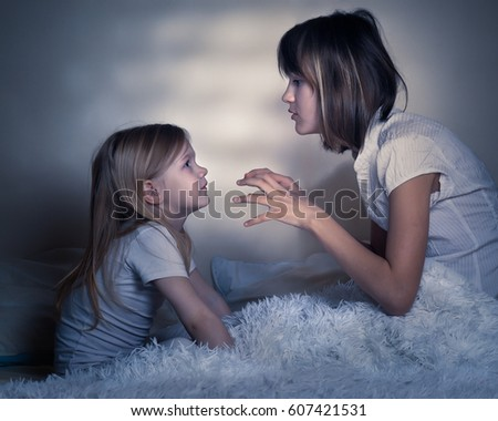 Young Teen Girl Sitting On Ground Stock Photo 415352071