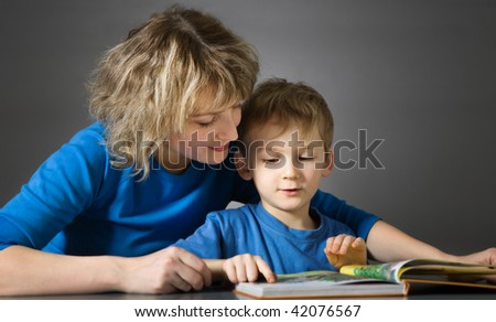 Story time - stock photo