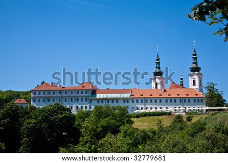 Strahov Monastery, Prague, Czech Republic - stock photo