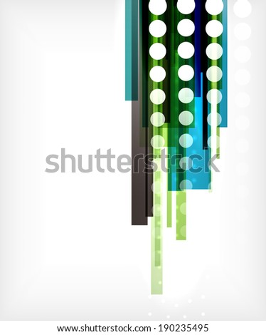 Straight lines abstract background. For brochure, presentation, web background, print production - stock photo