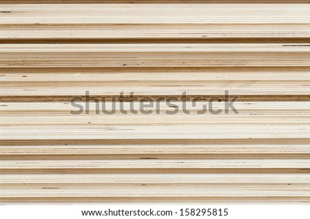 Straight plywood texture - stock photo