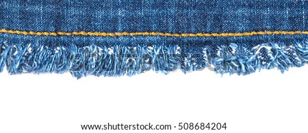 Image result for fraying jean fabric